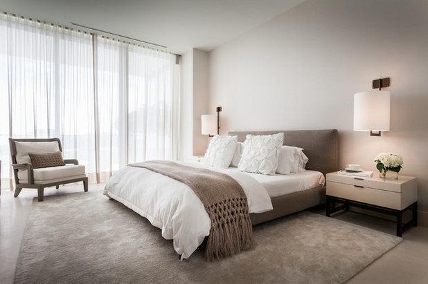 Arredamento Minimalista Camera Da Letto : Camera da letto moderna grigia napol arredamenti