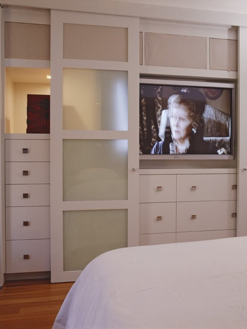 Tv In Closet Houzz