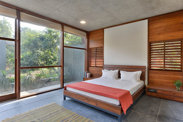 Amazing Contemporary Bedroom by Patel Vadodaria I Design Research Studio
