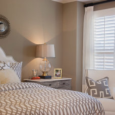 Contemporary Bedroom by IBB Design Fine Furnishings