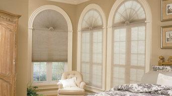 Arch shades for half moon windows