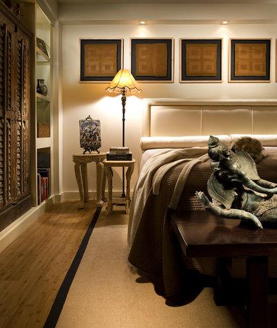 Asian Bedroom by Craig Denis