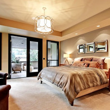 Contemporary Bedroom by Architectural Designs