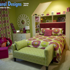 Traditional Bedroom by Architectural Designs