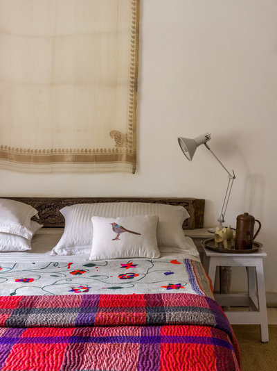 Eclectic Bedroom by Fabien Charuau Photography