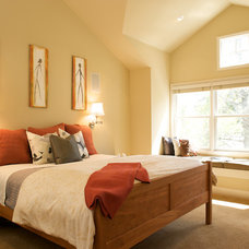 Contemporary Bedroom by Ed Ritger Photography