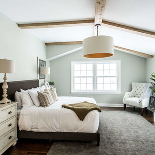 75 Beautiful Bedroom With Gray Walls Pictures & Ideas | Houzz