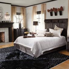 Transitional Bedroom by Arhaus