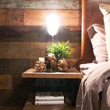 Industrial Bedroom by N:NA