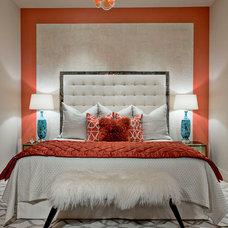 Contemporary Bedroom by Becky Jarold
