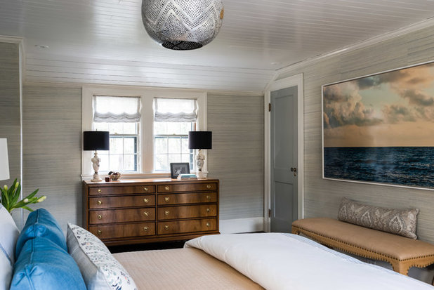 Transitional Bedroom by Meghan Shadrick Interiors