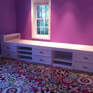 ワシントンD.C.のトラディショナルスタイルのおしゃれな寝室