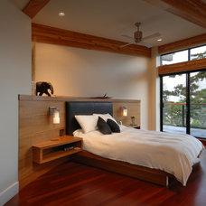 Contemporary Bedroom by Keith Baker Design Inc.