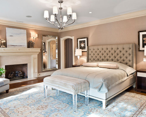 Luxurious master bedroom houzz for High end bedroom designs