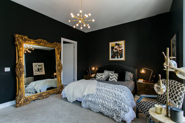 Eclectic Bedroom by Alcove Images