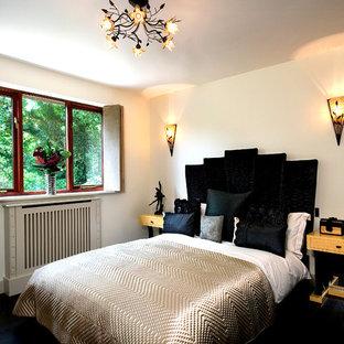Bedroom - contemporary bedroom idea in London