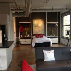 Industrial Bedroom by Jennifer Perlmutter Fine Art