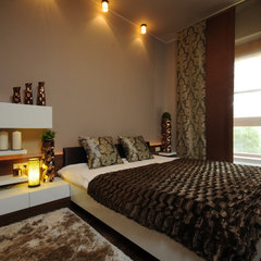 contemporary bedroom by Art&deco