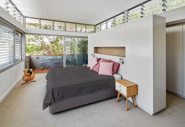 Contemporain Chambre by Utz-Sanby Architects