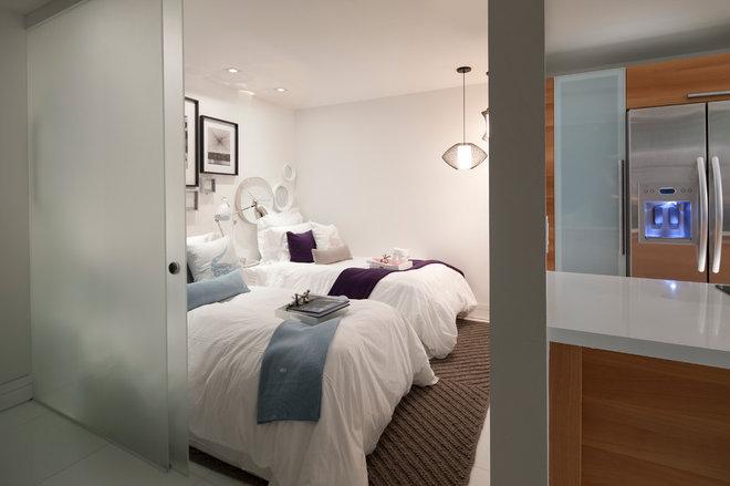Contemporary Bedroom by CP Design Build Services