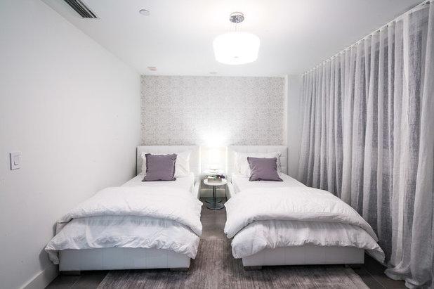 Scelti da voi 5 soluzioni per una camera a due letti stretta e lunga - Studio in camera da letto ...