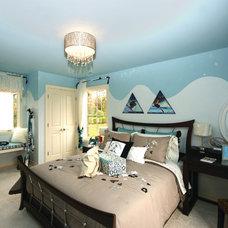 Contemporary Bedroom by Eleni Interiors