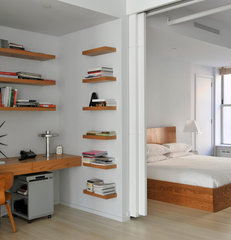 modern bedroom by Barlis Wedlick Architects, Tribeca Studio