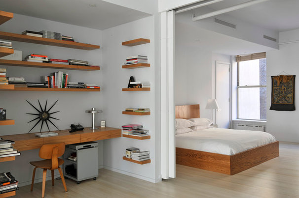 Contemporary Bedroom by BarlisWedlick Architects, Tribeca Studio