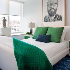 Contemporary Bedroom by Eche Martinez