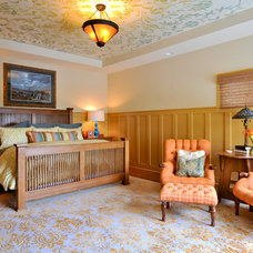 Traditional Bedroom by NR Interiors