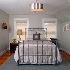 Transitional Bedroom by Laura Manchee Designs