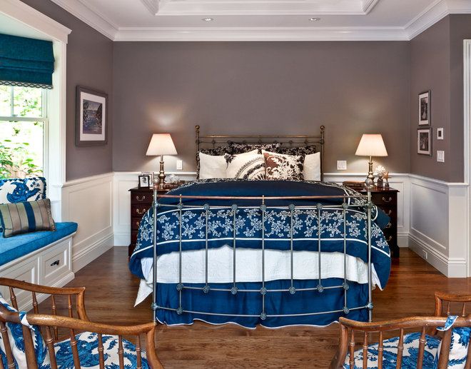 Traditional Bedroom by Viscusi Elson Interior Design - Gina Viscusi Elson