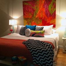 Contemporary Bedroom by Deborah Argyropoulos Fine Art