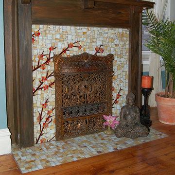 Asain Fireplace