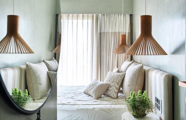 コンテンポラリー 寝室 by Fadd Studio