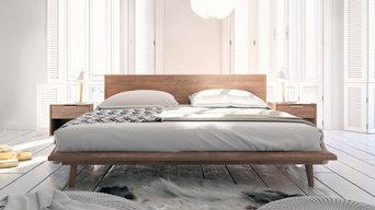 Asher Bed - Walnut