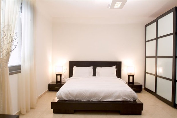 Great Contemporary Bedroom by Asher Elbaz