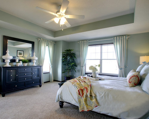Model Bedroom Alluring Model Master Bedrooms  Houzz Design Inspiration