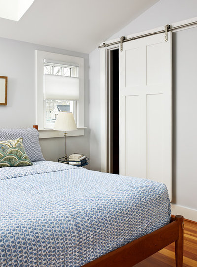 Transitional Bedroom by WINN Design+Build