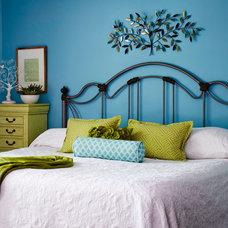 Eclectic Bedroom by Van Nice Design