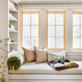 Inspiration for an asian bedroom remodel in Burlington