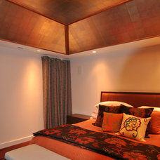 Asian Bedroom by Cathy Schlecter Design, Inc.