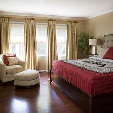 Asian Bedroom by LORNA GROSS Interior Design