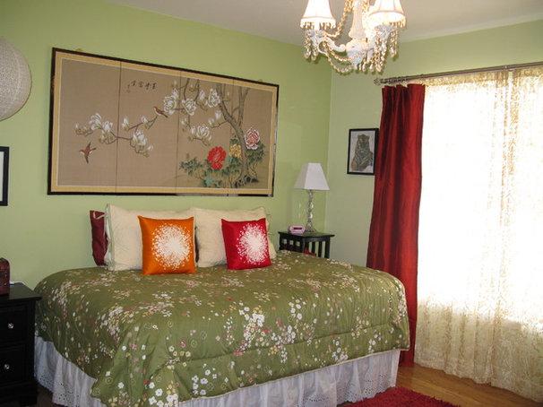 Asian Bedroom by Shoshana Gosselin