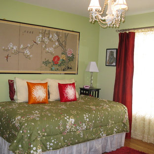 Green And Red Curtains Houzz