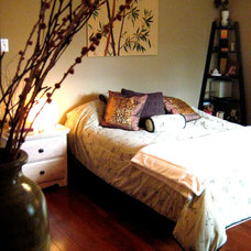 Asian Bedroom by TLC_Designs