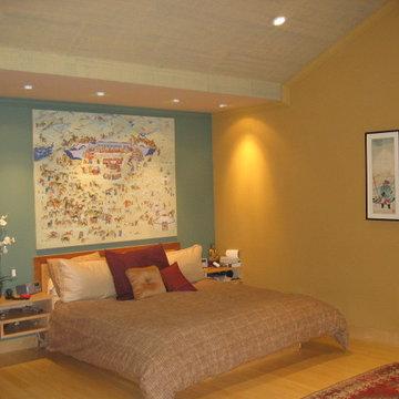 Asian Contemporary Bedroom