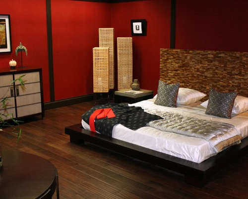 Asian Miami Bedroom Design Ideas Remodels Photos Houzz