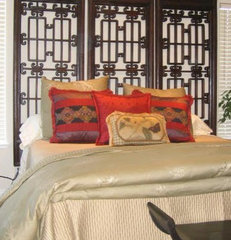 asian bedroom by Patricia Benson