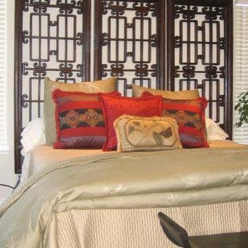 Asian Influenced Bedroom